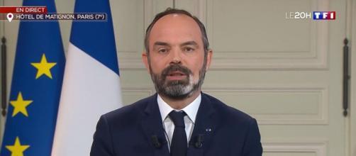 Edouard Philippe laisse entendre qu'une deuxième vague d'épidémie se prépare. Credit : TF1 Capture