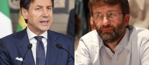 Il Presidente del Consiglio Giuseppe Conte e il Ministro dei Beni Culturali Dario Franceschini.
