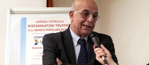Il presidente di Federconsumatori, Emilio Viafora.
