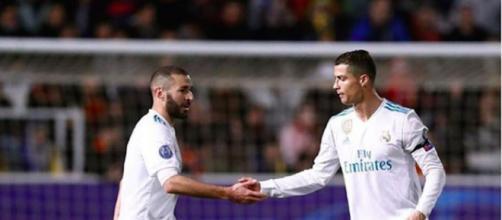 Karim Benzema dans le onze des meilleurs coéquipiers de Cristiano Ronaldo. Credit : Instagram/karimbenzema