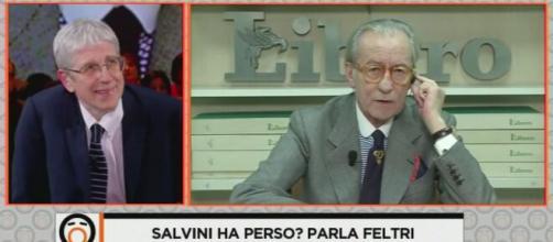 Prosegue la bufera mediatica dopo le affermzioni di Vittorio Feltri contro il Sud Italia.