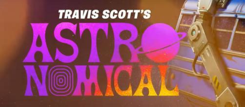 Travis Scott, serie di concerti su Fortnite.