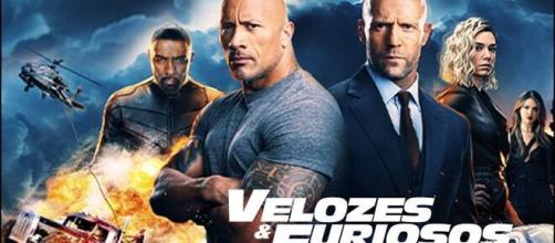 Velozes e Furiosos e outros filmes que o ator Dwayne Johnson participa que não pode deixar de assistir.(Foto/Reprodução)