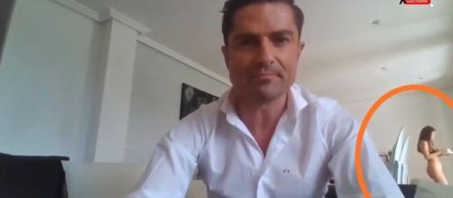 Alfonso Merlos es pillado en directo siendo infiel a Marta López