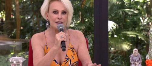 Ana Maria Braga celebra vitória sobre câncer. (Reprodução/TV Globo)