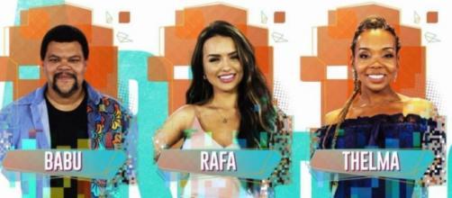 Enquete aponta quem deve deixar o programa no próximo sábado. (Reprodução/TV Globo)