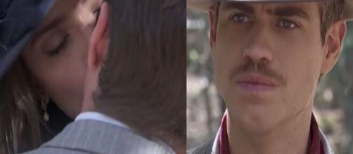 Il Segreto, anticipazioni spagnole: Marta spezza il cuore di Adolfo baciando Ramon