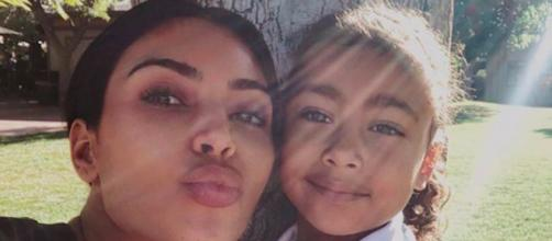 La fille de Kim Kardashian la remet en place en plein direct. Credit : Instagram/kimkardashian