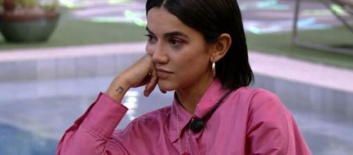 Manu conversa com Thelma sobre Babu no 'BBB20'. (Reprodução/TV Globo)