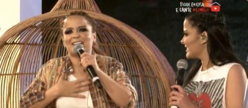 Maraisa desabafa em live e afirma estar 'bêba' (Reprodução/Youtube)
