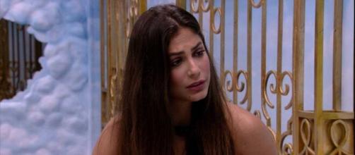 Mari disse estar desapontada com Guilherme. (Reprodução/TV Globo)
