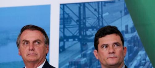 O casamento entre Sergio Moro e Bolsonaro acaba com troca de acusações, e possível negociação de vaga no STF. (Blasting News)