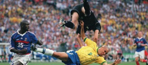 Ronaldo lors de la finale de coupe du monde 98 face à la France