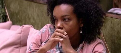 Thelma sai do 'BBB' neste sábado (25), segundo o UOL. (Foto: Globo).