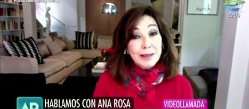 Ana Rosa Quintana reaparece en su programa y manda un mensaje a Pedro Sánchez