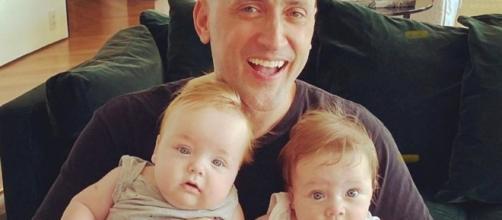 ator Paulo Gustavo cuida dos filhos durante a quarentena com o marido. Foto:Reprodução/Instagram