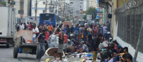Gari realiza atitudes solidárias. (Reprodução/TV Globo)
