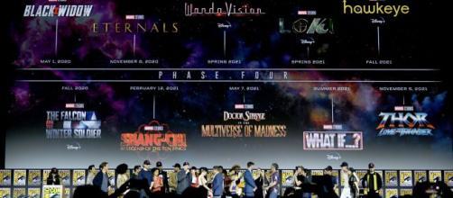 La Fase 4 de los Estudios Marvel trae interesantes noticias