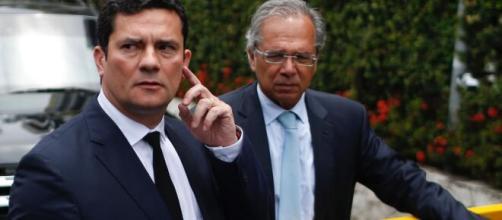 Para equipe econômica, saída de Moro enfraquece Guedes. (Arquivo Blasting News)