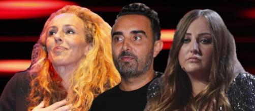 Rocío Carrasco, Rocío Flores y Fidel Albiac