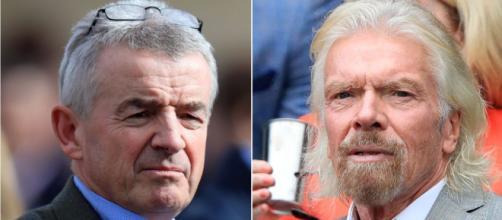 Ryanair contro Virgin Atlantic, O'Leary: 'Ridicola. Branson può salvarsi da solo'