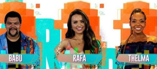 """Sister está na frente e surge como a favorita para deixar o """"BBB20"""" no último paredão desta edição do reality show. (Reprodução/TV Globo)"""