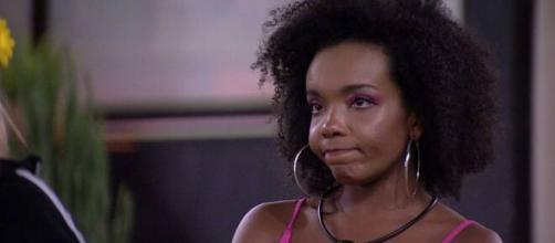 """Thelma é favorita para deixar o """"BBB20"""" no 17º paredão. (Reprodução/TV Globo)"""