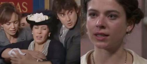 Una Vita, spoiler Spagna: Genoveva finisce in carcere per aver ferito Rosina.