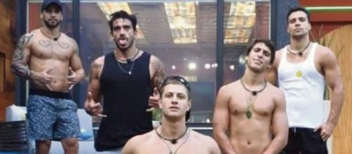 """A maior treta do """"BBB20"""", foi entre os meninos e as meninas da casa, o machismo dos rapazes custou caro para eles. (Reprodução/TV Globo)"""