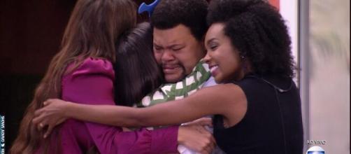 """Babu Santana foi o último eliminado do """"BBB20"""", e a final será entre as amigas Manu, Rafa e Thelma. (Reprodução/TV Globo)"""