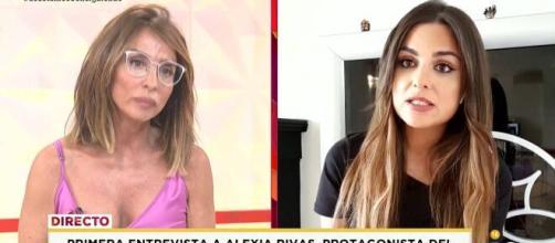 María Patiño no pudo evitar llamar la atención por el comportamiento de Alexia