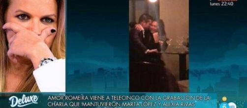 Marta López tuvo que ver otro vídeo de Alfonso Merlos con otra señorita