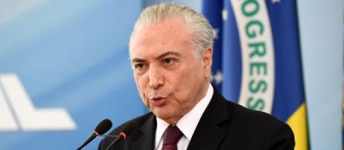 Michel Temer argumenta sobre pronunciamento de Bolsonaro. (Arquivo Blasting News)