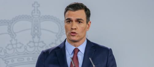 Pedro Sánchez en La Moncloa. / elplural.com