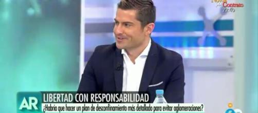 """Alfonso Merlos reaparece en """"El programa de Ana Rosa"""""""