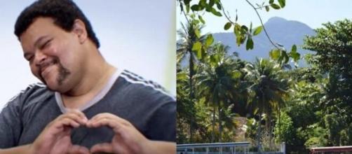 """Antes de entrar no """"BBB20"""", Babu Santana morava na ilha da Gigóia, um local paradisíaco. (Reprodução/Instagram)"""