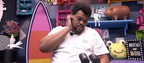 Babu responde comentários de que teria se vitimizado no 'BBB20'. (Reprodução/TV Globo)