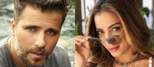 Bruno Gagliasso e Anitta querem Thelma campeã. (Foto: Montagem/Instagram).