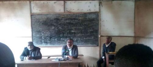 Des présidents de syndicats réunis pour l'appel à la grève (c) Odile Pahai