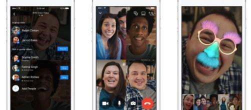 Facebook Messenger lancia le videochiamate di gruppo - Tecnocino - tecnocino.it