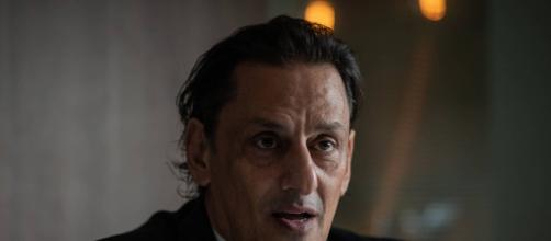 Frederick Wassef, advogado de Flávio Bolsonaro visitou o Palácio da Alvorada no domingo (26). (Arquivo Blasting News)
