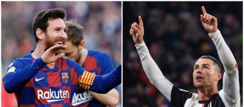 Lionel Messi et Cristiano Ronaldo ensemble, le rêve de beaucoup. Credit : Instagram/leomessi/Cristiano