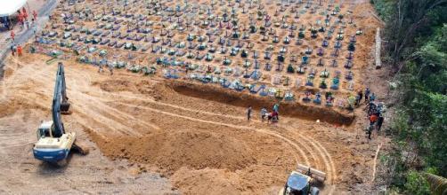 Manaus registra crescimento em índice de sepultamentos. (Arquivo Blasting News).