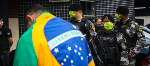 Manifestação pró-Bolsonaro gera confusão. (Arquivo Blasting News)