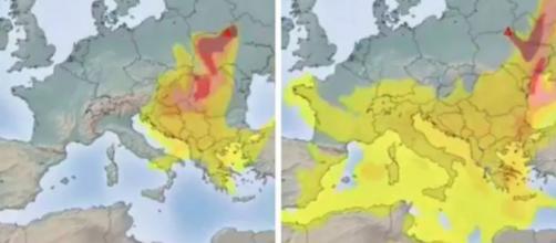 Tchernobyl : la France aurait été touchée - photo capture d'écran Twitter