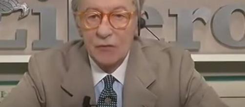 Vittorio Feltri ospite di Non è l'Arena.