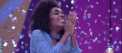 """""""BBB20"""": Marido de Thelma diz o que ela vai fazer com o prêmio. (Reprodução/TV Globo)"""