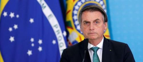Bolsonaro se defendeu das acusações feitas pelo ex-ministro Sergio Moro. (Arquivo Blasting News)