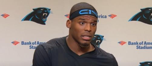 Cam Newton led the Panthers to Super Bowl 50. [Image Source: Carolina Panthers/YouTube]