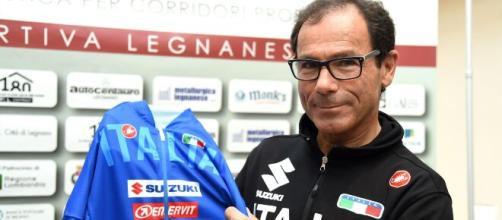 Davide Cassani, CT della Nazionale maschile di ciclismo.